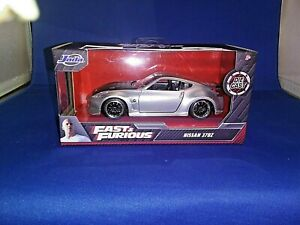 2020 Fast & Furious Nissan 370Z Silver Diecast 1:32 Scale Collectors Series New