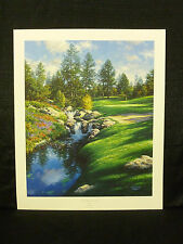 Larry Dyke Signed The Twelfth At Castle Pines  Golf Limited Edition Lithograph