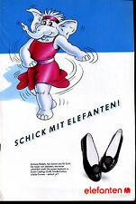 elefanten -- Schuhe - Schick mit Elefanten -- Werbung von 1990--