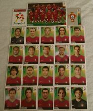 FIGURINE CALCIATORI PANINI EURO 2008 SQUADRA PORTOGALLO CALCIO FOOTBALL ALBUM