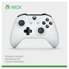 New Official Microsoft Xbox One S X Windows Wireless Bluetooth Controller White