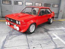 FIAT 131 Abarth Rallye Mirafiori red rot Test Muletto Gr.4 Street NEU IXO 1:18
