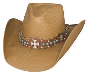 Bullhide Walk of Life Pecan Panama Straw Western Hat 2743