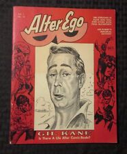 1969 ALTER EGO Magazine v.1 #10 Gil Kane FN+ 6.5 Jim Steranko / Joe Kubert