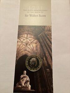 2021 Sir Walter Scott £2 Brilliant Uncirculated Coin