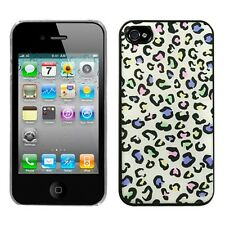 Colorful Leopard Dream Back Phone Protector Cover Case for APPLE iPhone 4s/4