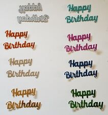 Happy Birthday Sign Cutting Die Suitable for Sizzix Cuttlebug Machnes
