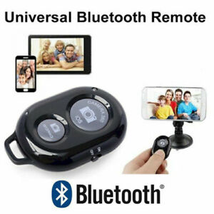 Bluetooth Shutter Remote Selfie Stick Control Button Monopod for iPhone Camera