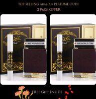 2 Original Men's Arabian Perfume Oudi 100ml Perfume + Free Gift from Dubai Oud