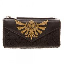 The Legend of Zelda Black Triforce Juniors Wallet Licensed NEW