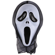 Scary Scream Ghost Face Mask Fancy Bloody Dress scary Halloween Party Costume HO