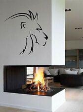 WD Wandtattoo Löwe Lion König Kopf Asien Afrika Wandaufkleber Wohnzimmer Porträt