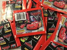 Disney Pixars Cars 2 Collectible Stickers From Panini, LOT Of 50 Packs For Album