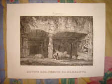 1800 ANTIQUE ANCIENT ARCHITECTURE PRINT ARCHAEOLOGY NR