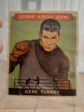 1933 SPORT KINGS BOXING  #18 GENE TUNNEY