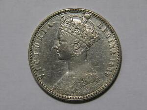 GREAT BRITAIN 1849 FLORIN QUEEN VICTORIA SILVER WORLD COIN 🌈⭐🌈