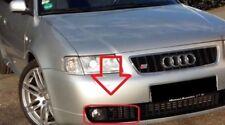 Genuine Audi S3 8 L 97-03 Parachoques Delantero Derecha O/S 8L9807682A Negro Parrilla de luz de niebla