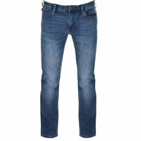 EMPORIO ARMANI J06 3Z1J06 1DLRZ 0942 Mens Denim Jeans Stretch Slim fit Blue Pant