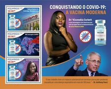 More details for mozambique 2021 mnh medical stamps corona moderna vaccines fauci 3v m/s