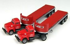 CMW N Scale Int'l Harvester PIE R190 Flatbed Semi Tractor Trailer 2pc 51123