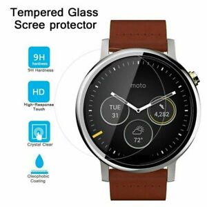 For Motorola Moto 360 42MM Tempered Glass Screen Protector Guard Ultra Clear
