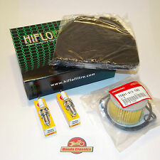 Honda Motor Service Kit cb250n cb400n Super Traum Öl Luft Filter Stecker. kit039
