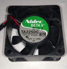 Nidec BETA V M33515-55 12V / 0.33 Amp Fan NEW