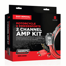 METRA POWERSPORTS MPS-AK82 / 2-CHANNEL MOTORCYCLE AMPLIFIER WIRING KIT  **NEW**