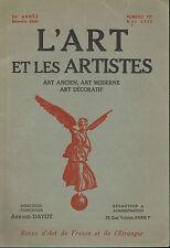 L'Art et les Artistes  - Humoristes Caricature  - A. de la Patellière -