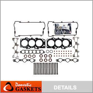 Fits 01-03 Hyundai Santa Fe Sonata Kia Optima 2.7L Head Gasket Head Bolts Set