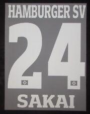 HSV Hamburger SV SAKAI Player Flock 25 cm fürs adidas Away/3rd Trikot 2017-2018