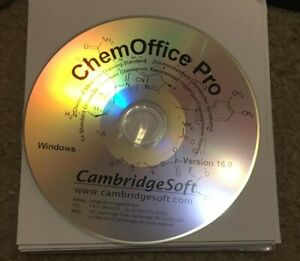 PerkinElmer ChemOffice Professional 16 Disc New Windows
