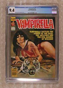 Vampirella #98 CGC 9.4 1981 1497331006