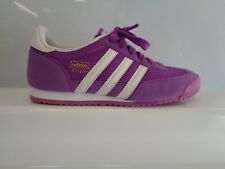 adidas Dragon Junior Girls Trainers UK 3 US 3.5 EUR 35.5 REF SF195^