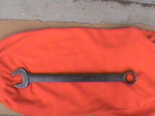 """Snap on 1-5/8"""" industrial standard combination wrench flank drive 12 pt GOEX52B"""