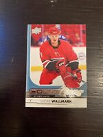 17/18 UD SERIES 1 LUCAS WALLMARK YOUNG GUNS RC SP ROOKIE #207
