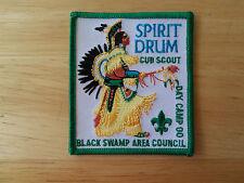 Cub Scout Patch Spirit Drum Cub Scout Day Camp 00 Black Swamp Area Council