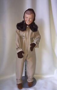 Vtg 1981 Faith Wick Charles Lindbergh Porcelain Doll Aviation Plane 1095 1200