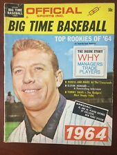 Mickey Mantle - Yankees - BIG TIME BASEBALL Magazine - Complete Issue