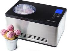 Andrew James 2 Litre Fully Automatic Ice Cream Maker Machine Compressor Sorbet