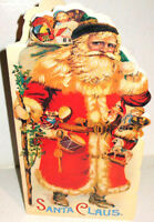 Victorian SANTA CLAUS Christmas BOOK Perfect Add To Holiday Decor! MINT Shackman
