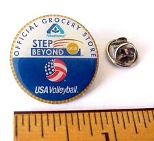 Olympic USA Volley Ball Team Albertsons Official Grocery Store Patriotic Pin