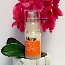 MURAD Essential-C Eye Cream SPF 15, 0.5 fl oz NEW NO BOX FRESH !!! EXP 03/21
