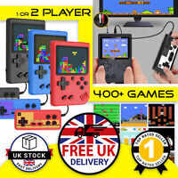 Mini Retro Handheld Games Console Gameboy Style Portable Video Game 2 PLAYER UK