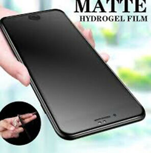 2Pcs Matte Hydrogel Film Not Glass Screen Protector Front Cover Apple iPhone 7 8