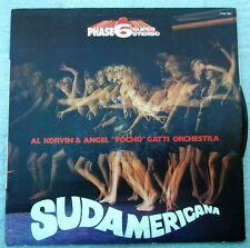 SUDAMERICA AL KORVIN $ ANGEL PHASE 6 STEREO LP VINILE 33 GIRI