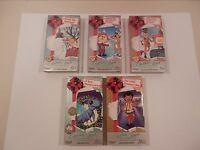 CHRISTMAS CLASSICS 5-VHS Box SOME NEW! Rudolph FROSTY Santa Claus RANKIN BASS