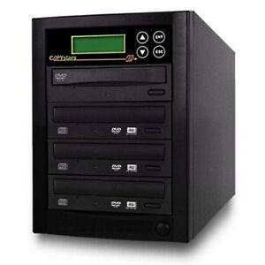 Copystars CD Dvd Duplicator 1- 3 target 24x smart Asus/LG burner 128mb buffered