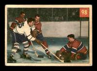 1954 Parkhurst #98 Jacques Plante/Ted Sloan IA VGEX X1466748