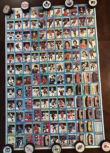 1979-80 Topps Hockey Rookie #18 Wayne Gretzky on a Uncut Sheet